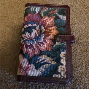 Tapestry and Leather Day Planner